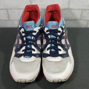 Asics Gel-Lyte red/blue shoes size 13
